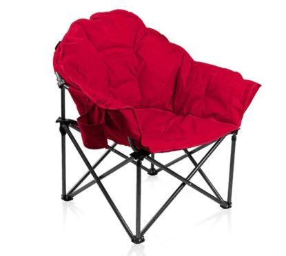 ALPHA CAMP Folding Oversized Moon Saucer Chair