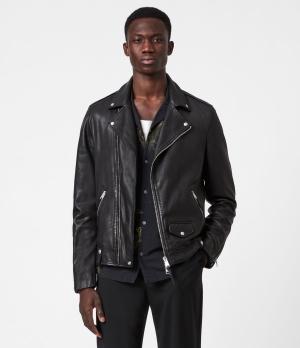 All Saints Milo Leather Biker Jacket