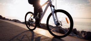 Bike On Sunny Coastal Path