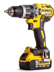 Dewalt DCD796P1-GB XR Brushless Compact Combi Drill