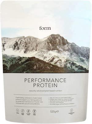 Form Nutrition Performance Plant-Based Vegan Protein Powder