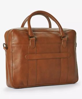 John Lewis & Partners Edinburgh Leather Briefcase