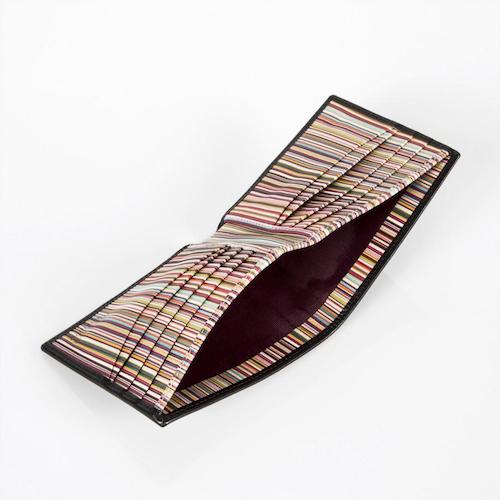 Paul Smith Interior Signature Stripe Leather Wallet