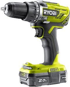 Ryobi R18DD3-120S One Plus Cordless Drill Driver Starter Kit
