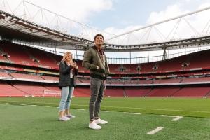 Emirates Stadium Tour & Three Course Meal At London Restaurant (Arsenal)