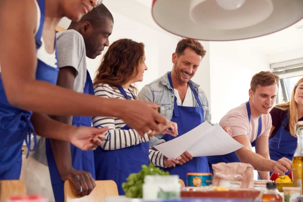 best cookery lessons UK