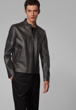 Hugo Boss BOSS Nidan Leather Jacket