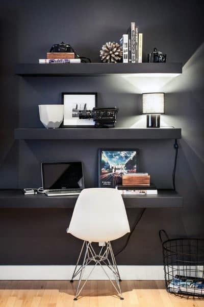 shelves for small office ideas