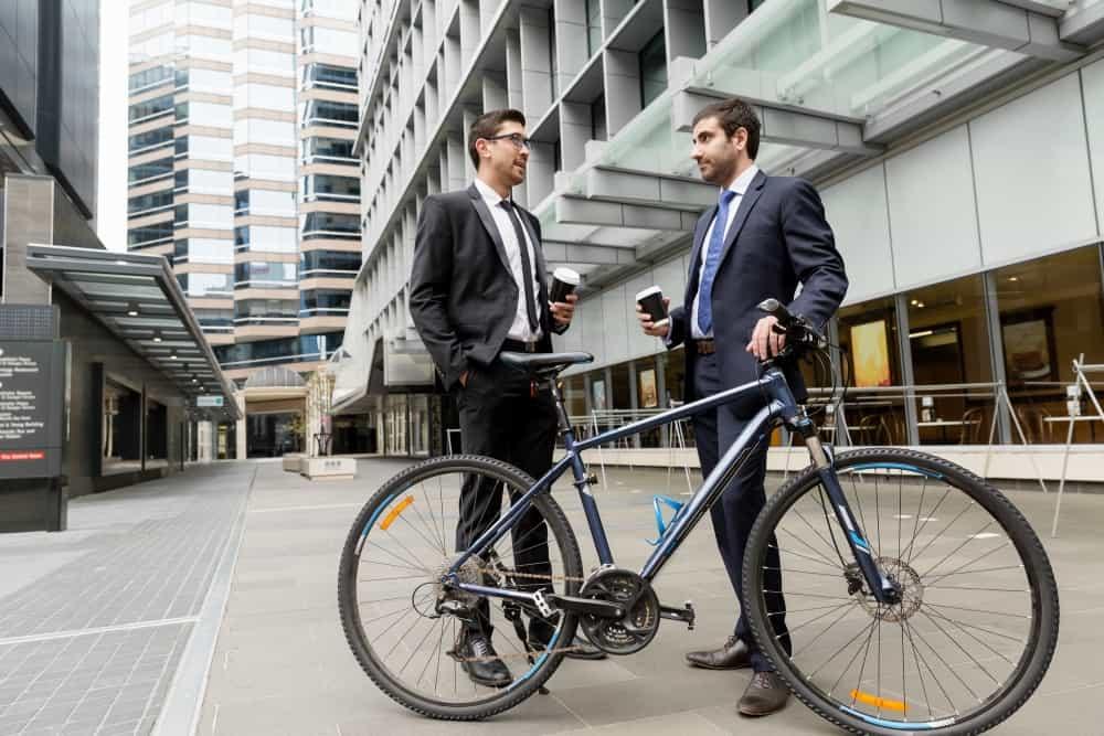 bike storage for commuters